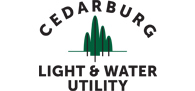 Cedarburg Light and Water logo - links to Home